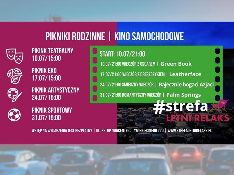 Kino samochodowe w Łodzi 2021